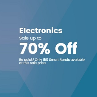 Electronics 70%