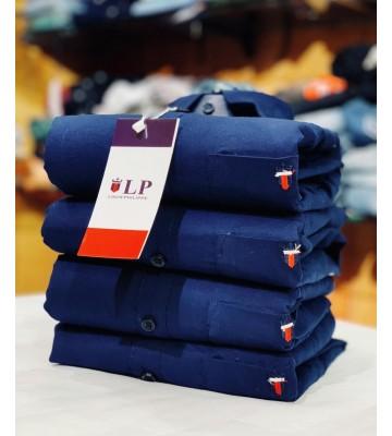 Simple Shover Navy Blue  Shirt