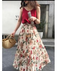 Foral skirt on demand