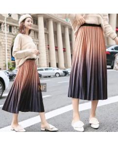 Shaded trendy skirt