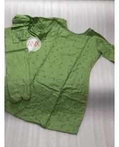 Green Kurti pent set stylish work